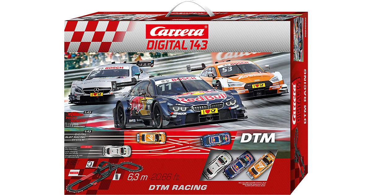 Carrera Digital143 40036 DTM Racing