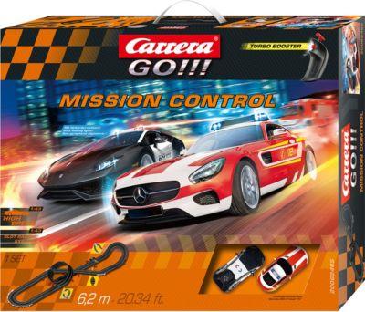 Carrera Go !! Rennstrecke 2 Autos 1:43 Rot Rennbahn Autorennbahn Komplettset Autos