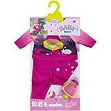 Удобный костюмчик и светлячок-ночник BABY born, розовый