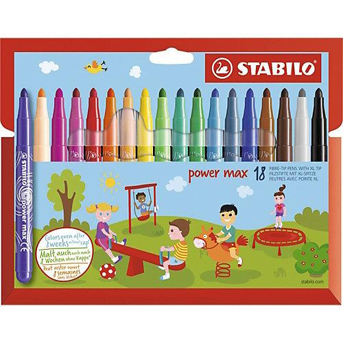 "Фломастеры Stabilo ""Power max"", 18 цветов от STABILO"