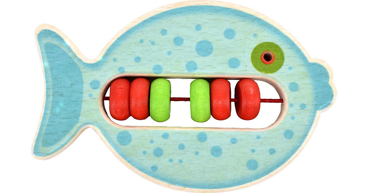 Voggenreiter · Musik Kleine: Klapper-Fisch Bulli (blau) Kleinkinder