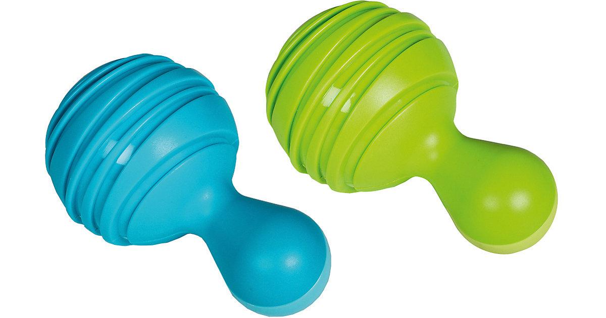 Musik Kleine: Tropical Maracas (grün + blau)  Kleinkinder
