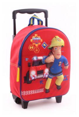 Feuerwehrauto Rot Feuerwehrmann Sam Kindertrolley