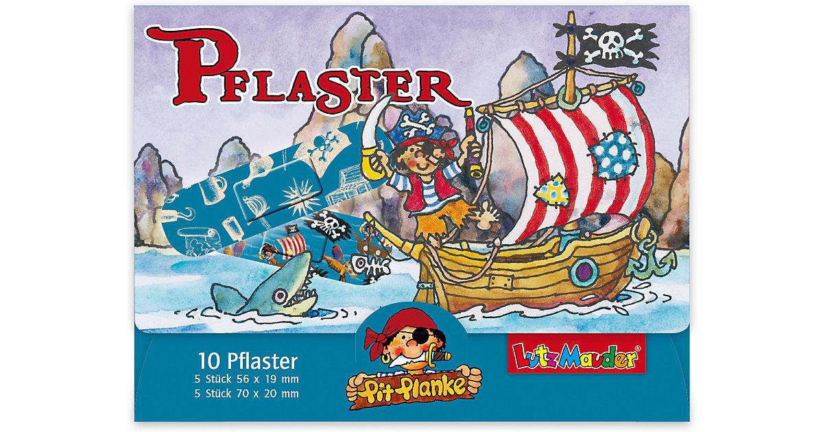 Lutz Mauder Verlag · Pflasterbriefchenset Pirat Pit Planke, 20 Stück