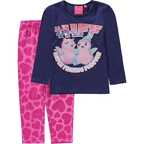 Hatchimals Schlafanzug Gr. 98 Mädchen Kleinkinder | 03609082203650