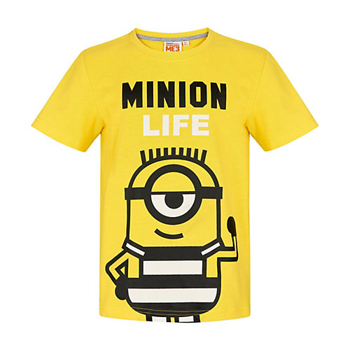Minions T-Shirt Gr. 128 Jungen Kinder | 04056085876463