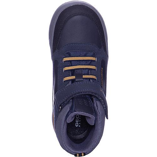 Утепленные ботинки GEOX - сине-серый от GEOX