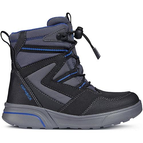 Утепленные ботинки GEOX - серый от GEOX