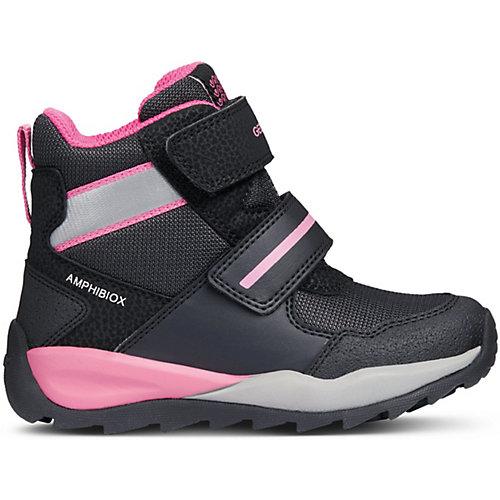 Утепленные ботинки GEOX - черный от GEOX