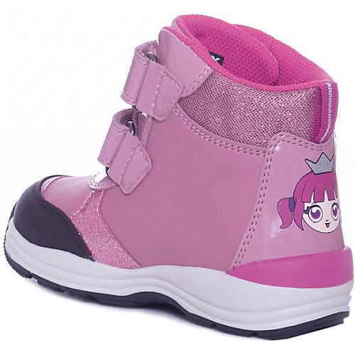 Утепленные ботинки GEOX - розовый от GEOX