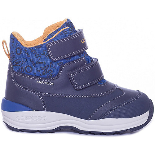 Утепленные ботинки GEOX - синий от GEOX