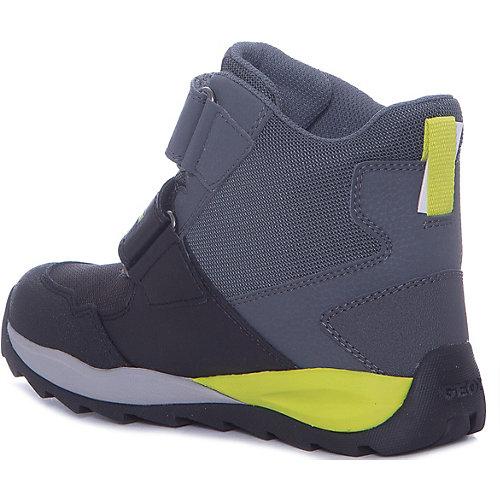 Утепленные ботинки GEOX - grau/grün от GEOX