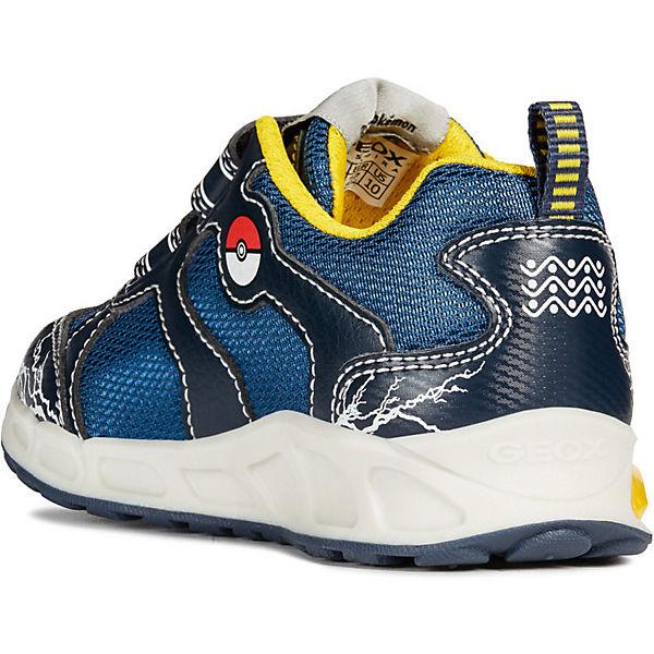 Кроссовки GEOX Pokemon, Пикачу