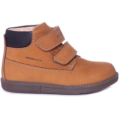 Ботинки GEOX - коричнево-оранжевый от GEOX