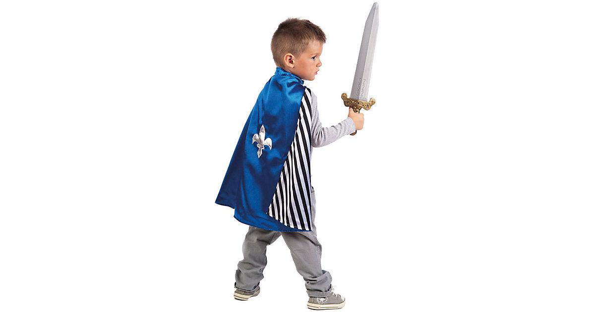 Kostüm Wendeumhang Pirat/Ritter blau Gr. 104/116 Jungen Kinder