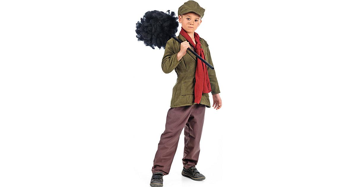 Kostüm Mary Poppins Schornsteinfeger Bert braun Gr. 140/152 Jungen Kinder
