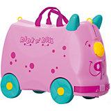 Чемодан на колесиках Ride n'Roll нежно-розовый, высота 33 см