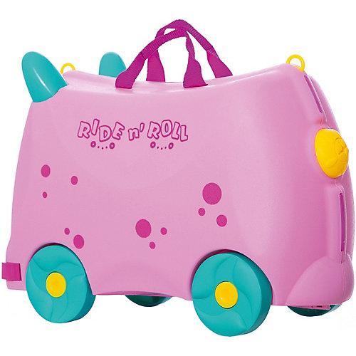 Чемодан на колесиках Ride n'Roll нежно-розовый, высота 33 см от Ride n'Roll