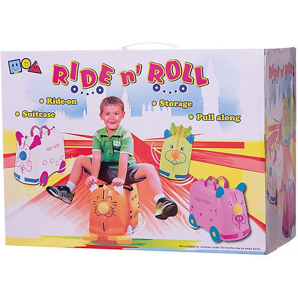 Чемодан на колесиках Ride n'Roll, нежно-розовый
