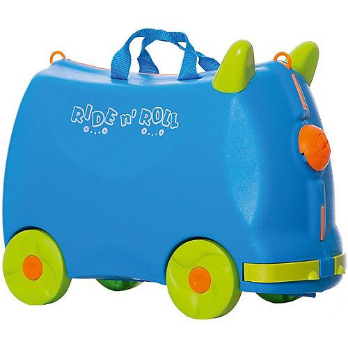 Чемодан Ride n'Roll голубой, высота 33 см от Ride n'Roll