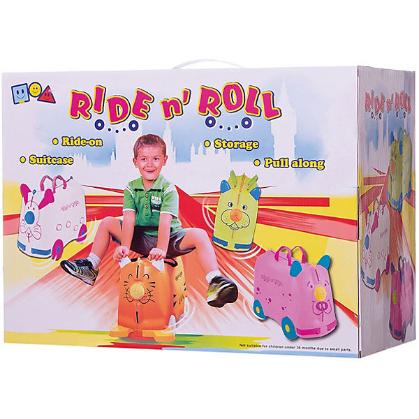 Чемодан на колесиках Ride n'Roll, голубой