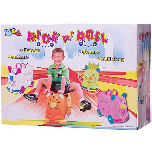 Чемодан на колесиках Ride n'Roll зеленый, высота 33 см от Ride n'Roll