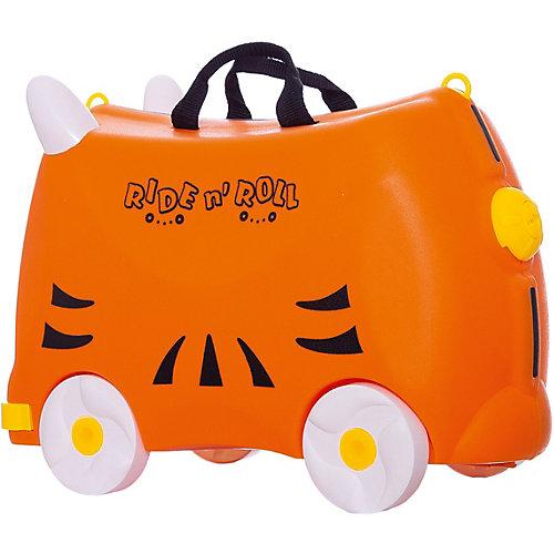 Чемодан на колесиках Ride n'Roll оранжевый, высота 33 см от Ride n'Roll