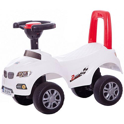 """Машинка-каталка """"Авто"""", белая от Qunxing Tongzhile"""