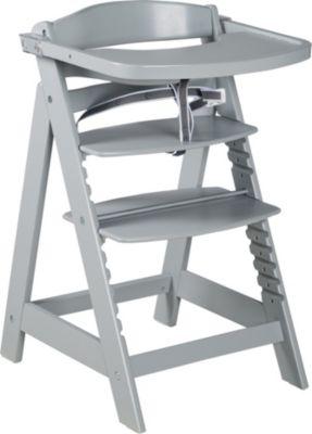 Treppenhochstuhl Sit Up Click & Fun, taupe