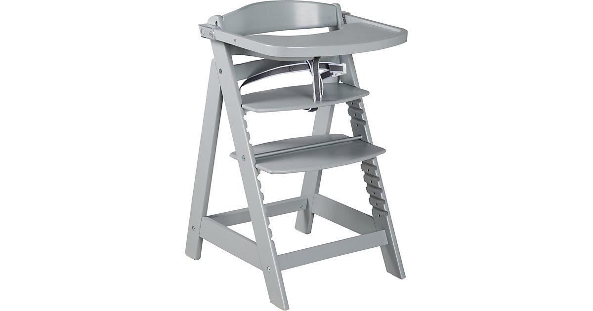 Treppenhochstuhl Sit Up Click & Fun, taupe   Kinderzimmer > Kinderzimmerstühle > Hochstühle   Roba