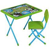 Набор мебели Дэми 101 далматинец (1,5-8 лет), зеленый