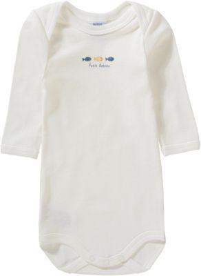 Baby Jungen Langarmshirt mit Allover Print Langarm Shirt Unifarbe Jungen 5er Set