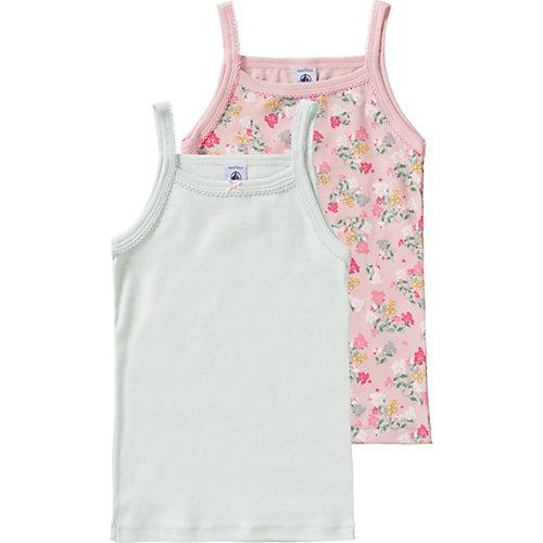 Unterhemden Doppelpack Gr. 110 Mädchen Kleinkinder | 03102273778444