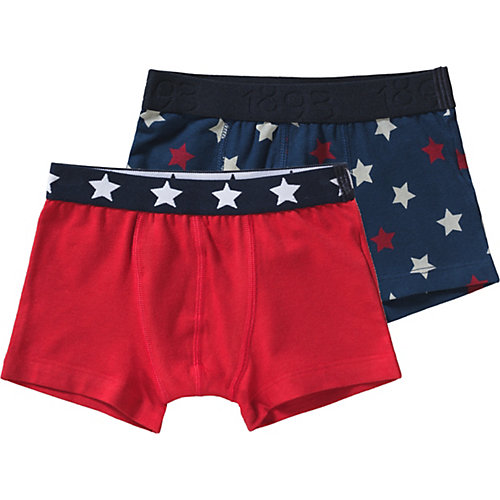 PETIT BATEAU Boxershorts Doppelpack Gr. 152 Jungen Kinder | 03102278992586