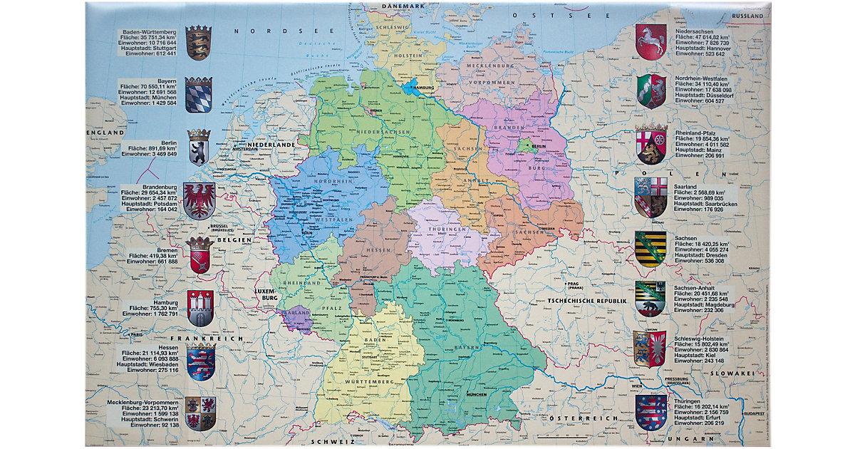 Schreibunterlage Deutschlandkarte