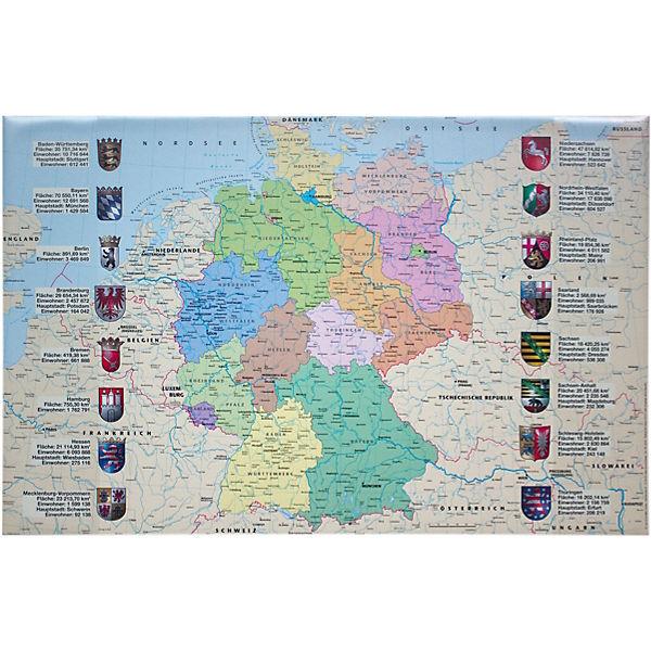 schreibunterlage deutschlandkarte Schreibunterlage Deutschlandkarte, Idena   myToys