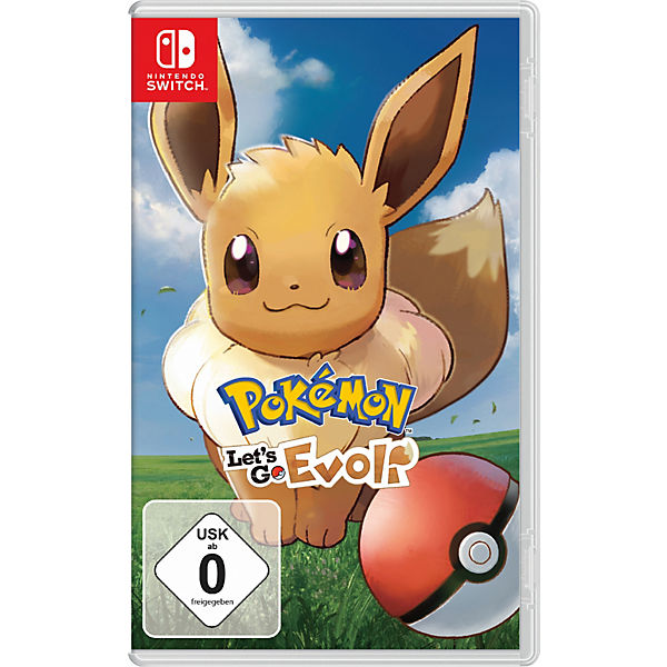 Nintendo Switch Pokémon - Let's Go, Evoli !