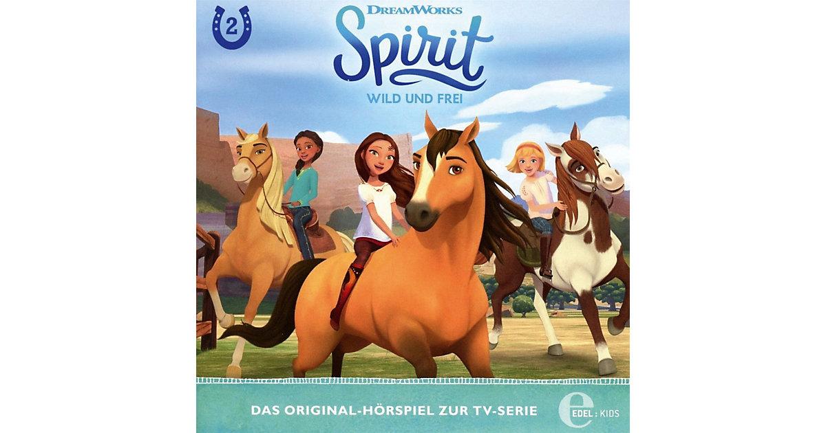CD Spirit, wild und frei 2 - Die Rätselhafte Karte Hörbuch