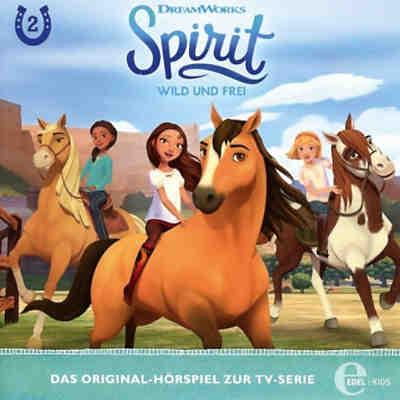 cd spirit, wild und frei 2 - die rätselhafte karte, spirit   mytoys