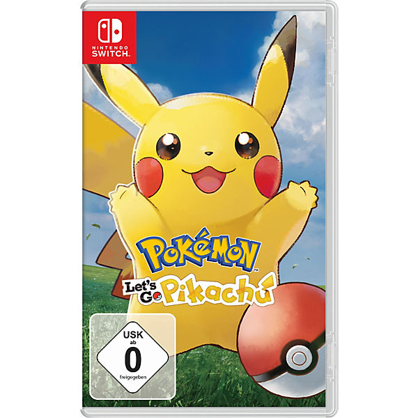 Nintendo Switch Pokémon Let S Go Pikachu Pokemon Mytoys