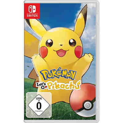 Nintendo Switch Pokémon - Let's Go, Pikachu!