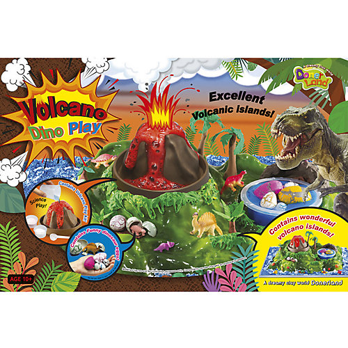 """Набор для опытов Donerland """"Volcano"""" Вулканический остров от Donerland"""