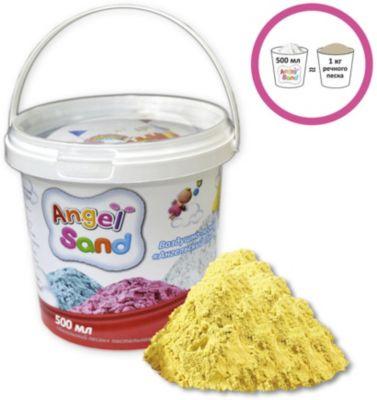 """Кинетический игровой песок Donerland """"Angel Sand"""" 500 гр., жёлтый"""