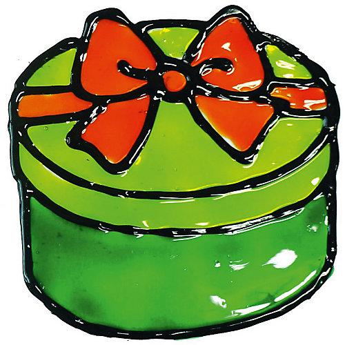 """Набор витражных красок с трафаретами Donerland """"Glass Magic"""" Наклейки от Donerland"""