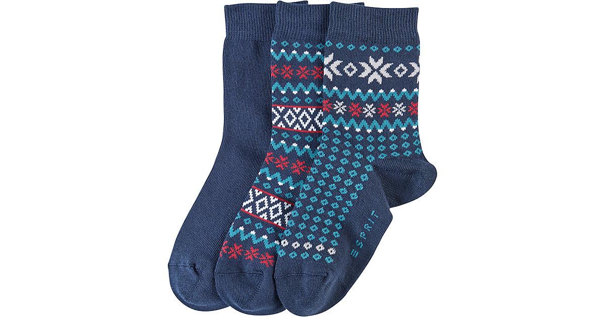 ESPRIT · Kinder Socken Nordic 5er-Pack Gr. 31-34