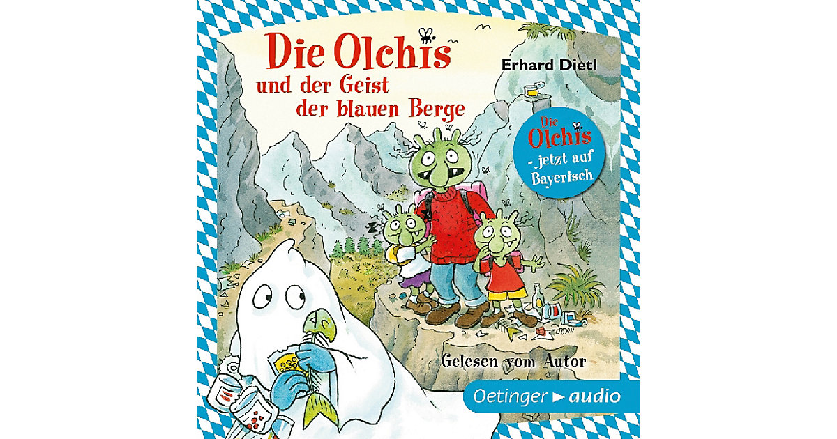 Die Olchis und der Geist der blauen Berge, 1 Audio-CD Hörbuch