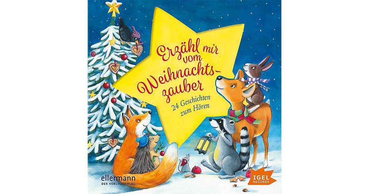 Erzähl mir vom Weihnachtszauber: 24 Geschichten...