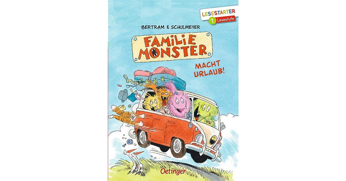 Büchersterne: Familie Monster macht Urlaub!