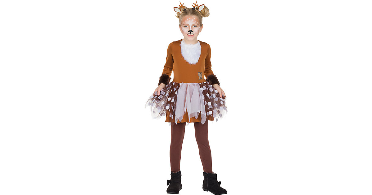 Kostüm Rehkitz Gr. 116 Mädchen Kinder