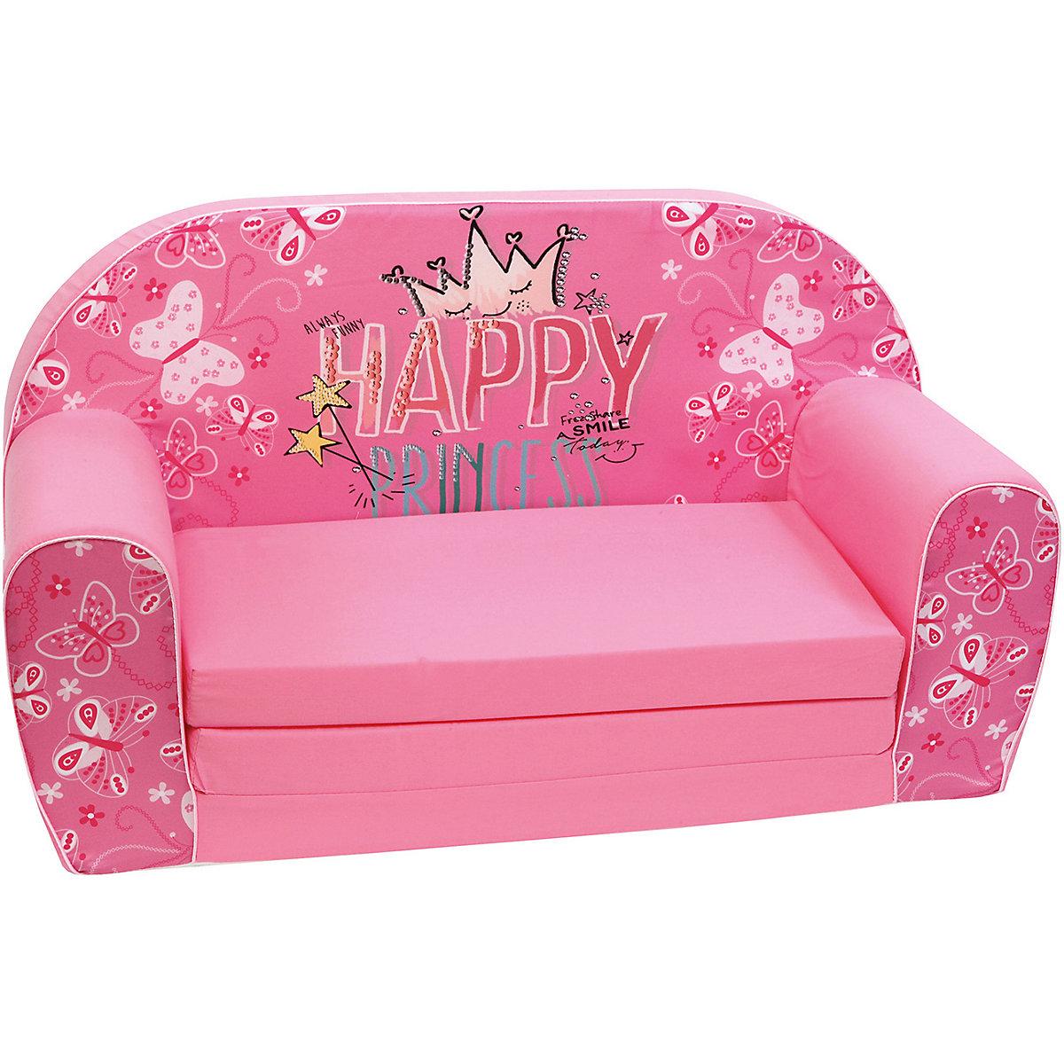 Mini-Schlafsofa Princess Lilly, rosa, knorr-baby | myToys